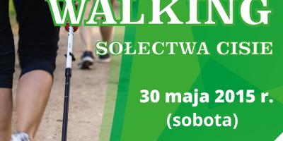 II Wiosenny Marsz Nordic Walking w Cisiu