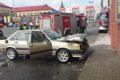 Pożar samochodu przy Biedronce