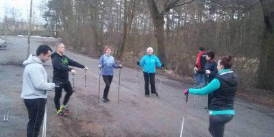 Wróciły treningi nordic walking w Blachowni