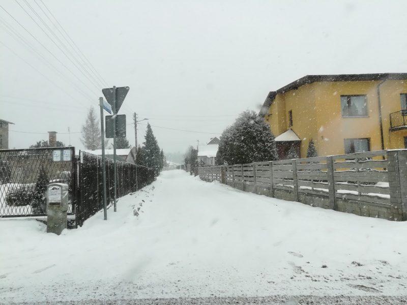 Zima ponownie zaskoczyła drogowców
