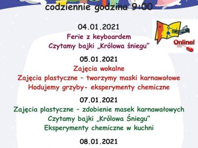 Ferie online z MDK Blachownia