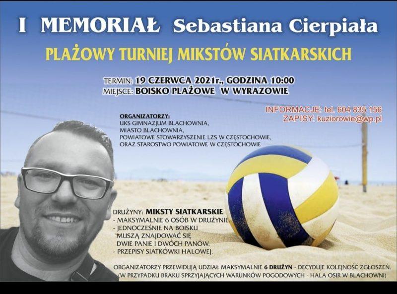 Zapraszamy na I Memoriał Sebastiana Cierpiała