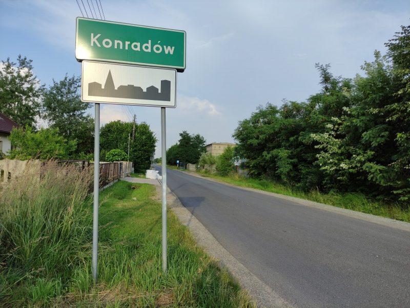 Są pieniądze na wybudowanie drogi w Konradowie
