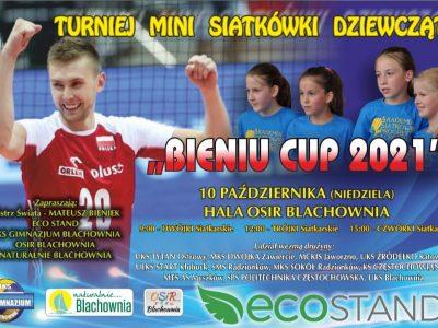"""W niedzielę """"Bieniu CUP 2021"""" – turniej mini siatkówki dziewcząt"""