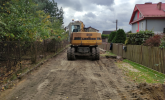 Rozpoczęła się przebudowa ulicy Narcyzowej w Blachowni